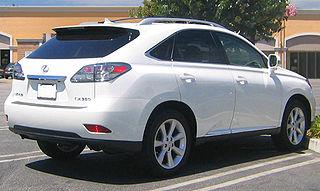 2012 Lexus RX350 Touch Up Paint